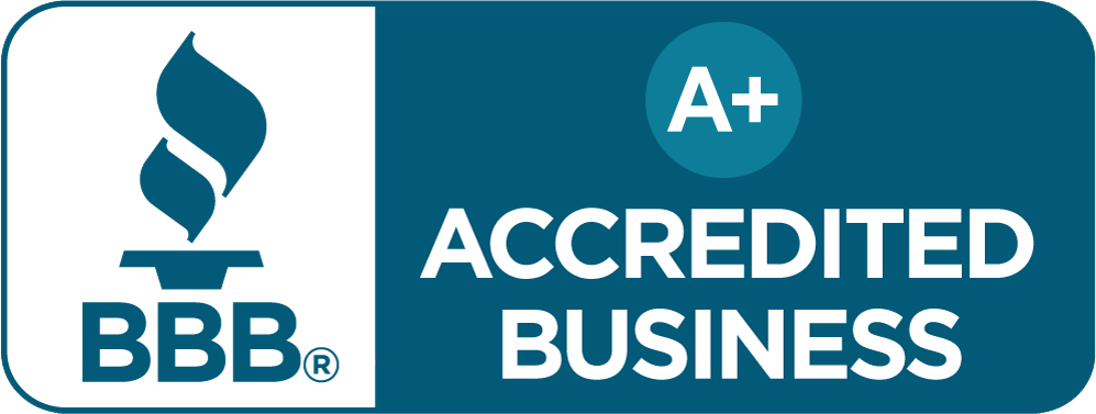 [BBB Accredited Business since 10/14/2014 - A+ Rating]