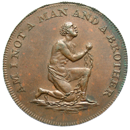 [Great Britain, Middlesex AE Anti-Slavery Half Penny Token, ND (Circa 1790s)]